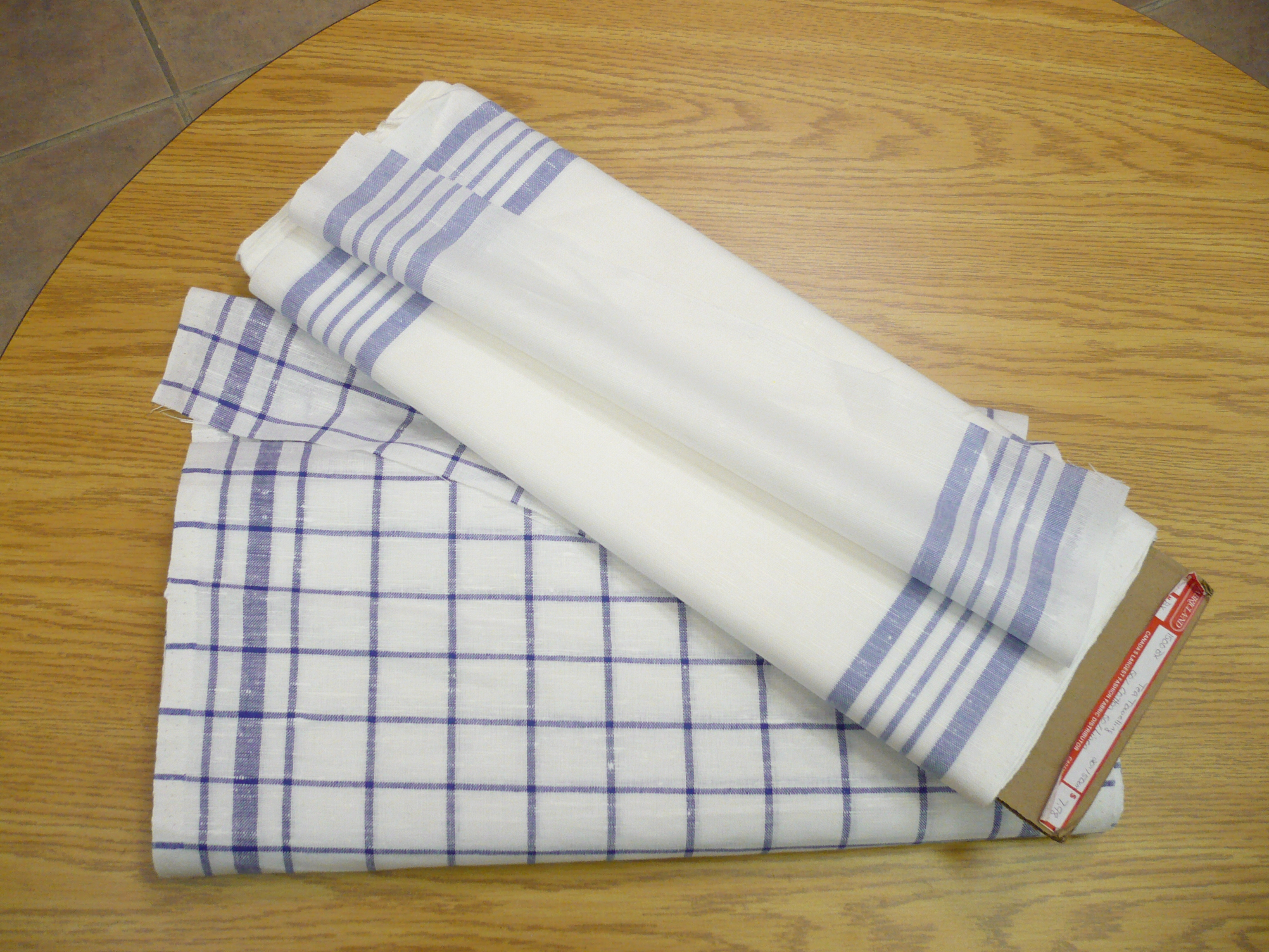 DIY: Tea Towels By The Yard! | Michael Penney Style