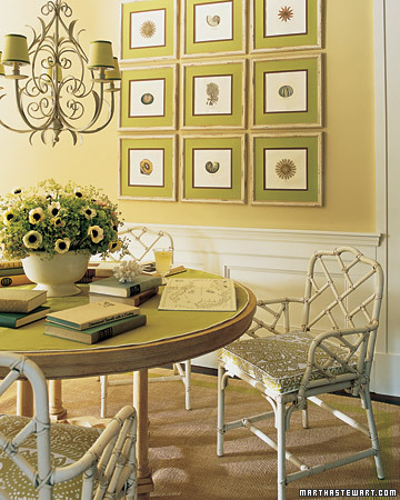 Green Decorating Ideas | Michael Penney Style Green Decorating