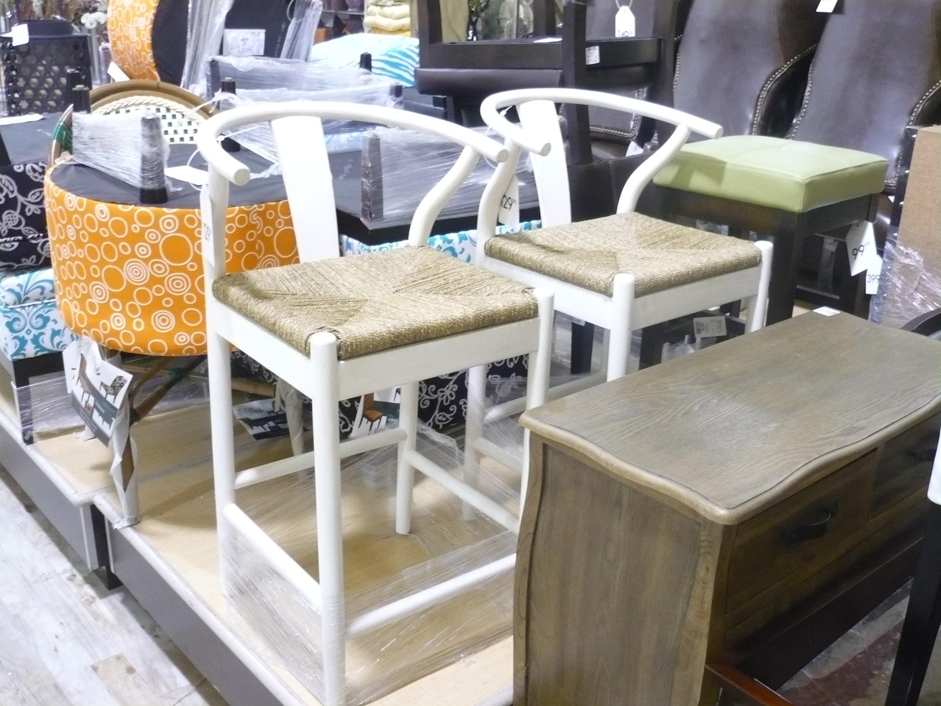 wishbone counter stool. The Wishbone Counter Stool