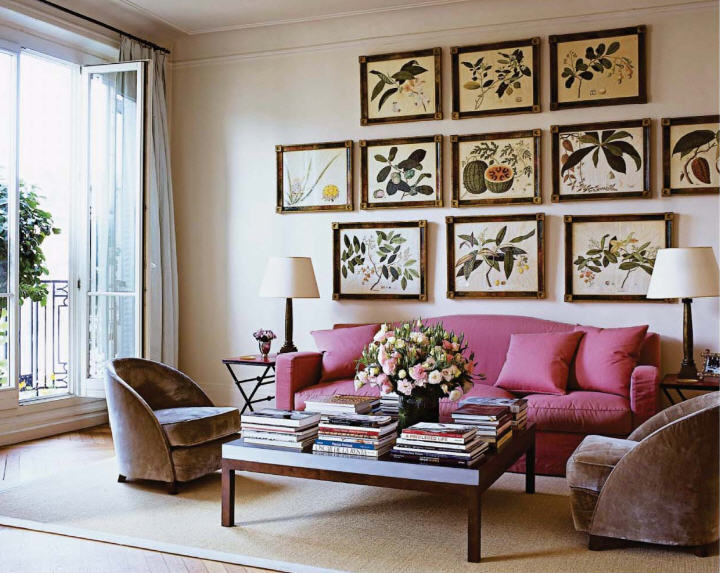 lee radziwill s place from elle decor ahhhh