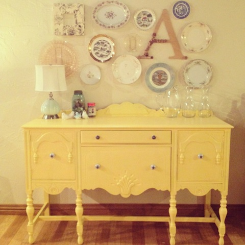 Colourful Upcycled Sideboards | Michael Penney Style