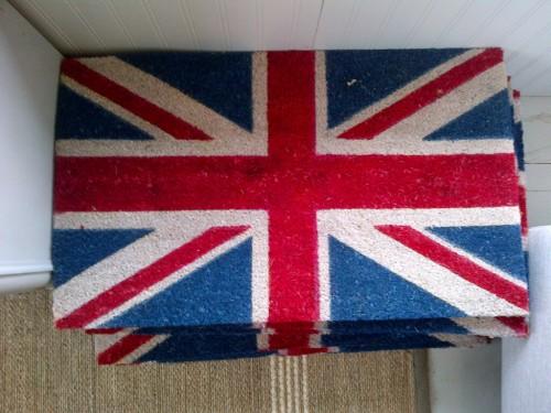 Penney & Co Union Jack Coir Door Mat $25