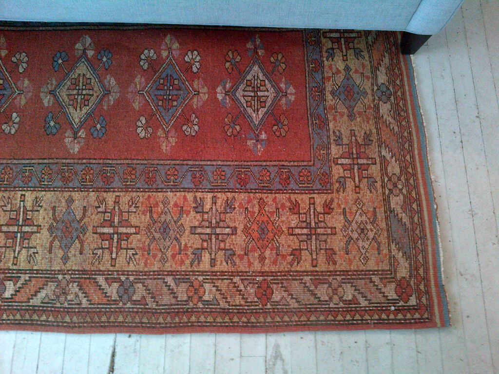 Penney & Co Vintage Wool Rug $