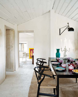 wishbone chairs via style files