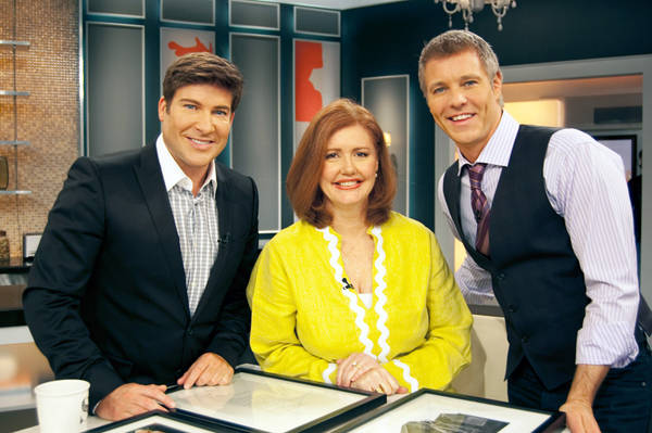 Cobi with Steven & Chris on their show