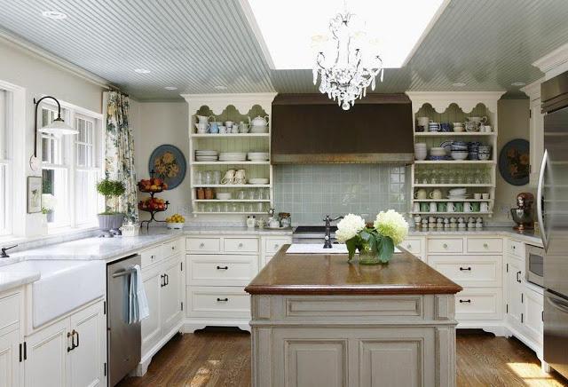 Cobi's own warm kitchen shared in the magazine