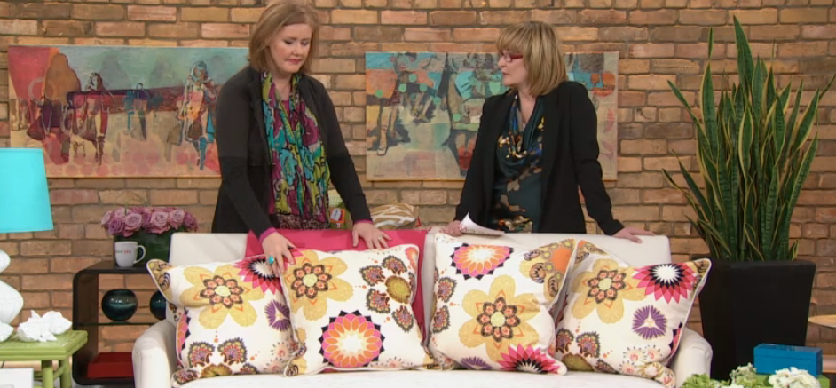 Cobi with Marilyn on The Marilyn Denis Show