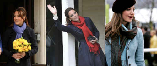 Princess Kate knows the power of the scarf