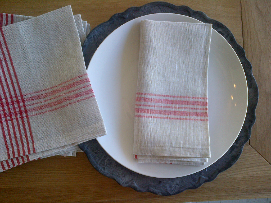 Penney & Co 100% Linen Tea Towels $