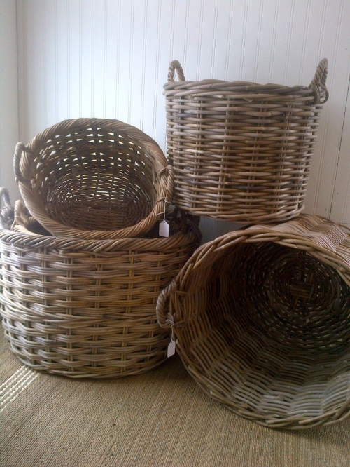 Penney & Co Washed Willow Baskets $