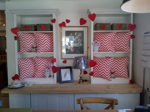 Penney & Co Chevron Cushions $30